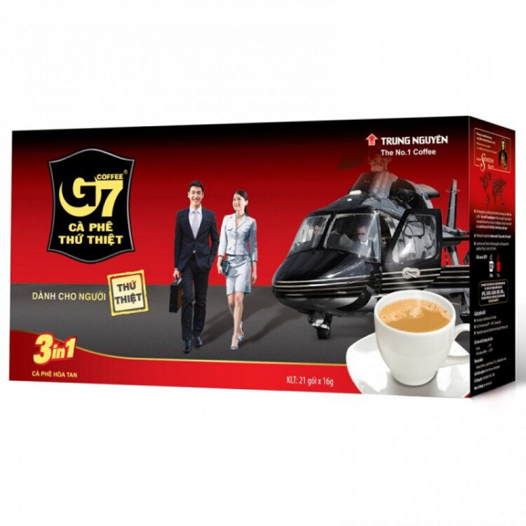 Растворимый кофе G7 coffee 3 in 1