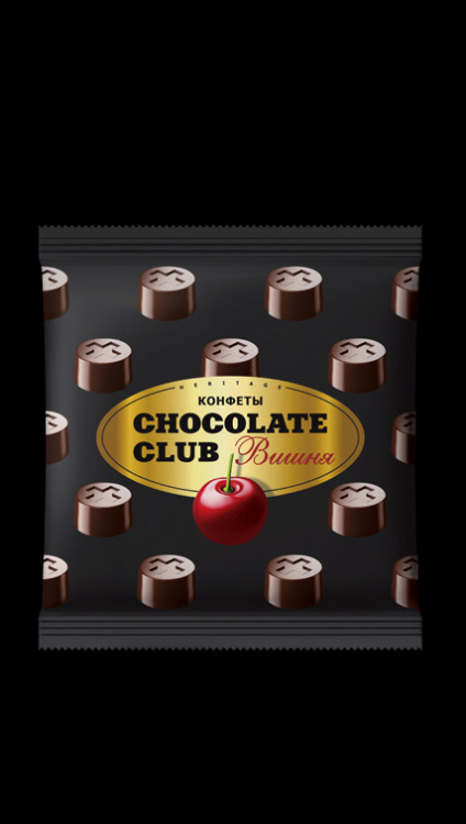 КОНФЕТЫ CHOCOLATE CLUB ВИШНЯ